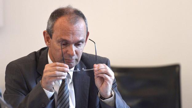 Beat Hensler, der Kommandant der Polizei Kanton Luzern, gerät immer mehr unter Druck