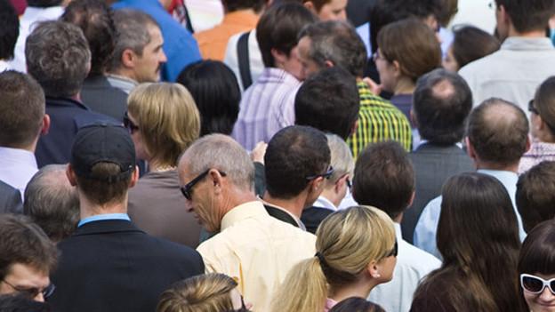 Immer mehr Menschen: im Kanton Aargau könnte die Bevölkerung bis 2040 um 30 Prozent zunehmen (Symbolbild)