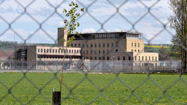 Strafanstalt Bochuz in der Waadt: hier starb im März 2010 der Häftling Skander Vogt