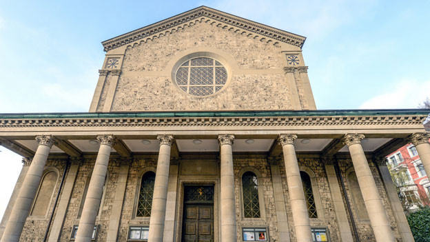 Vielleicht bald der Zürcher Bischofssitz? Die Liebfrauenkirche in der Stadt Zürich