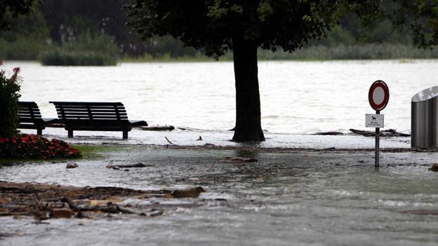 2005 wurde Sarnen von einem verheerenden Hochwasser heimgesucht.