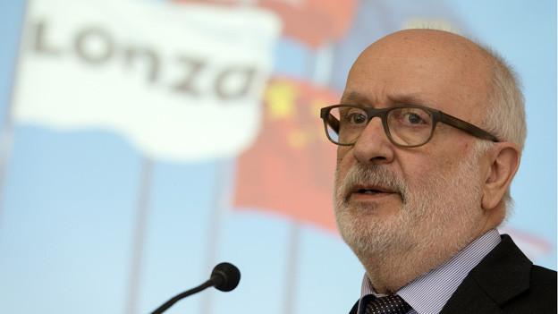 Lonza VR-Präsident Rolf Soiron finanziert Bodensanierung.