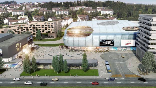 Nach 13 Jahren die Baubewilligung: Das geplante Einkaufs- und Freizeitzentrum «Mall of Switzerland»