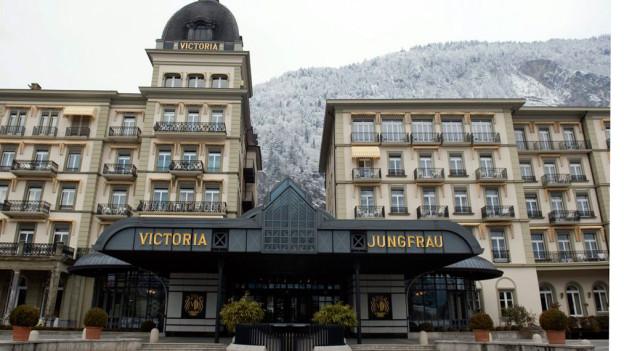 Wechselt den Besitzer: Das Luxushotel Victoria Jungfrau in Interlaken