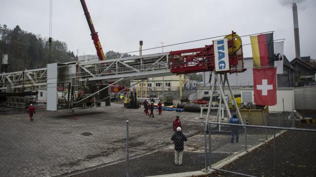 In St. Gallen sind die Fahnen inzwischen auf Halbmast: Geothermieprojekt im Sittertobel