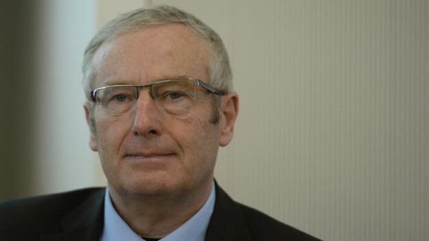 Alois Bissig, Justizdirektor des Kantons Nidwalden, darf seinen Sitz nicht mehr verteidigen.