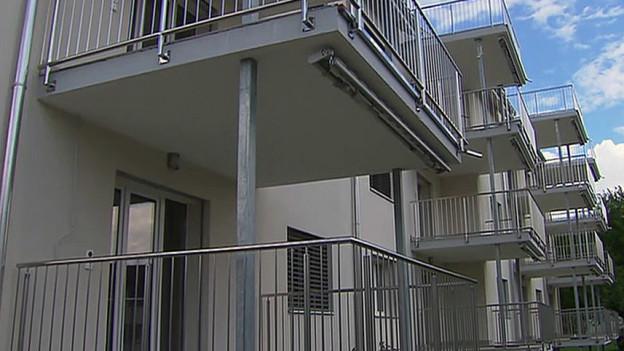 Diesen Wohnungen sollen als Asylunterkunft genutzt werden.