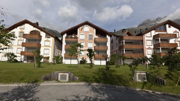 Leerstehende Ferienwohnungen in Silvaplana: Wer nicht vermietet, muss bezahlen.