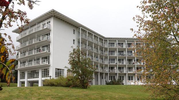 Die Hochgebirgsklinik Davos soll der Allergieforschung dienen.