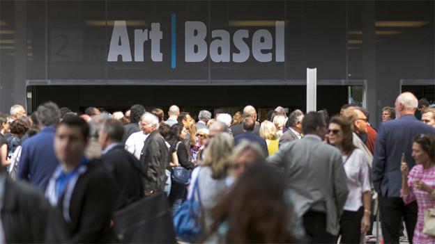 Treffpunkt der Kunstszene: Die Art Basel