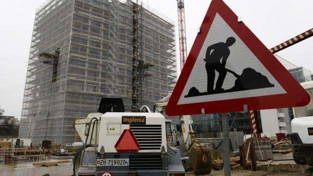 Neue vor allem teure Wohnungen werden in Zürich gebaut