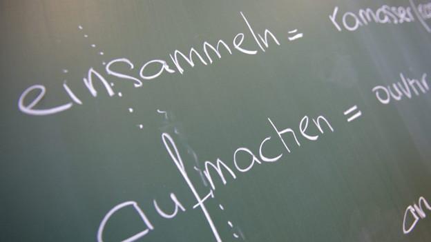 Das Thurgauer Parlament will kein Französisch in der Primarschule.