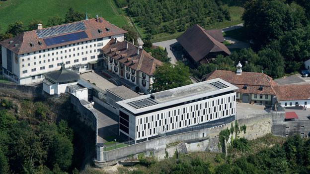 Luftaufnahmer der Berner Strafanstalten Thorberg