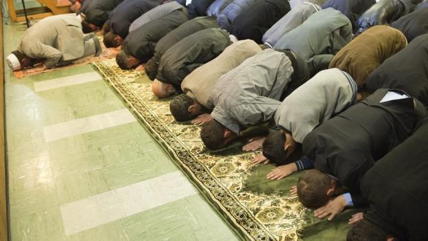 Betende Muslime