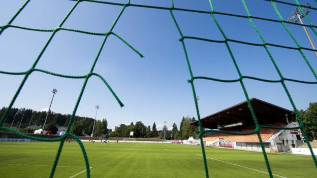 Das Brügglifeldstadion in Aarau hat seine besten Zeiten hinter sich.
