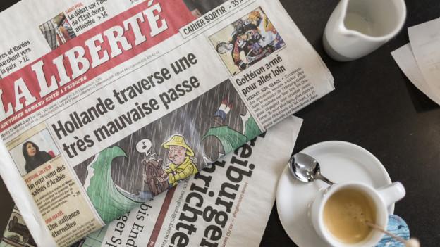 Die Freiburger Traditionszeitung «La Liberté» soll freiburgisch bleiben.