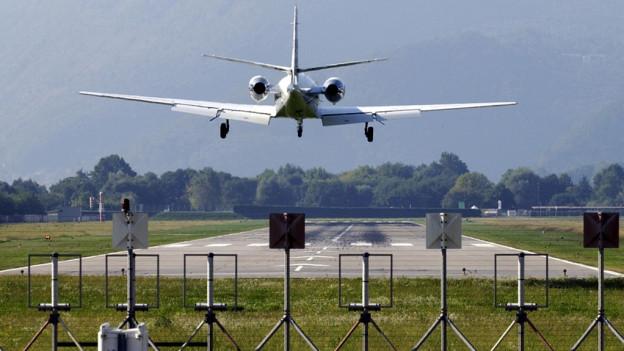 Die Swiss verbindet künftig den Flughafen Lugano-Agno mit jenem in Genf.