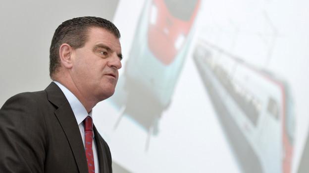 Peter Spuhler - Chef von Stadler Rail hat den Auftrag der SBB.