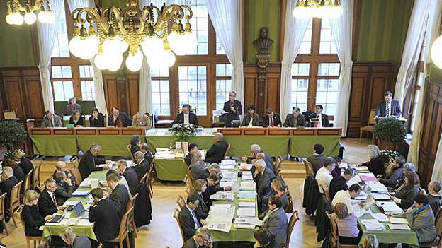 Blick in den Grossratssaal