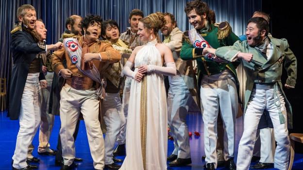 Das Luzerner Theater zeigt «Die lustige Witwe».
