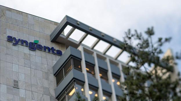 Der Hauptsitz von Syngenta in Basel