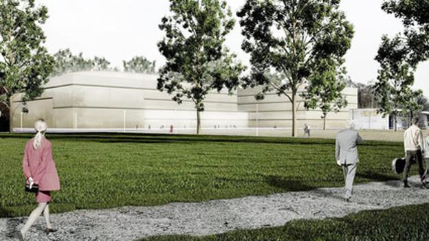 Luzern erhält ein neues Opern- und Theaterhaus: Visualisierung der «Salle modulable»