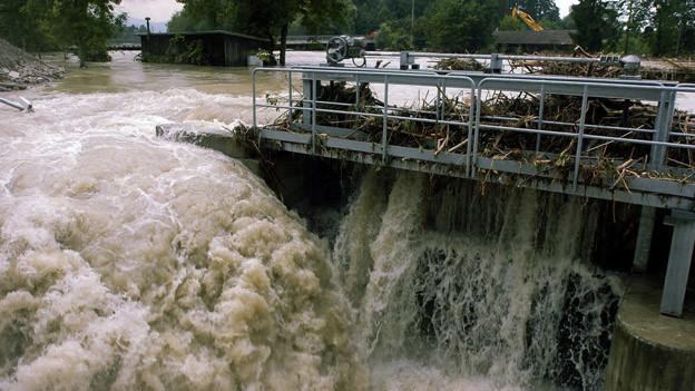 Vor 10 Jahren überflutete die Reuss grosse Teile des Kantons Luzern.