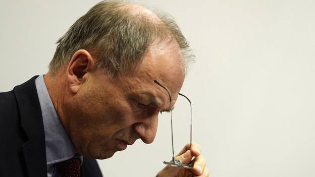 Der Zürcher Justizdirektor Martin Graf stützt die Kindes- und Erwachsenenschutzbehörde, Kesb.