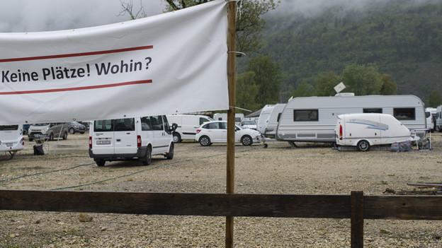 Schweizer Fahrende wünschen sich mehr Stand- und Durchgangsplätze.
