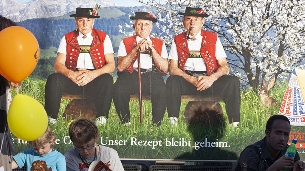 Werbeplakat Appenzeller Käse