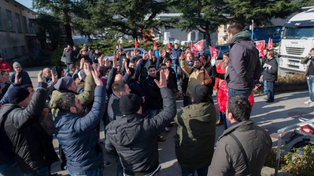 Streik Firma Tessin