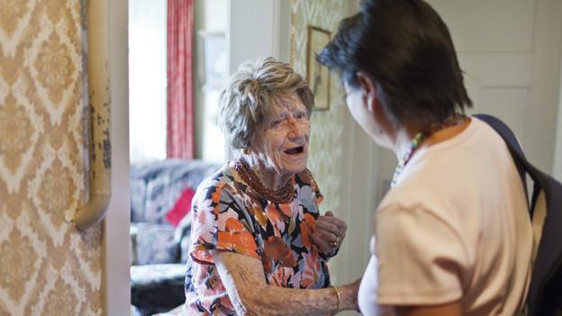 Pensionierte helfen Pensionierten: dies das Ziel des Projektes Zeitvorsorge.