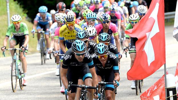 Die Tour de Suisse startet die nächsten drei Jahre in Zug.
