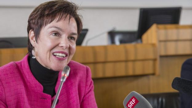 Die Baselbieter Regierungsrätin Monica Gschwind