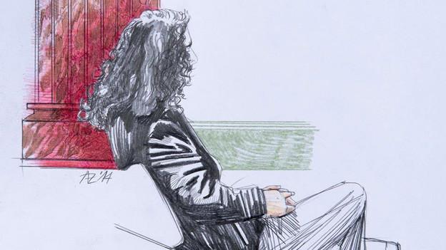 Das Bundesgericht bestätigt Urteil: Gerichtszeichnung des sogenannten «Heiler von Bern».