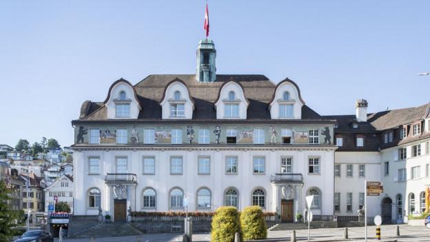 Der Ausserrhoder Kantonsrat tagt im Regierungsgebäude in Herisau.