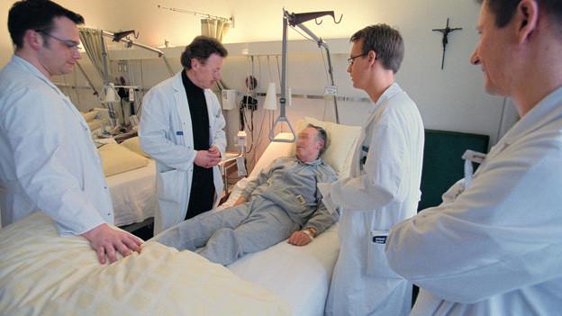Medizinstudenten könnten schon in wenigen Jahren auch in St. Gallen ausgebildet werden.