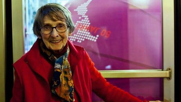 Lucienne Schnegg ist eine Kino-Legende in der Westschweiz.