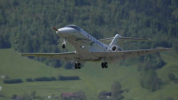 Der erste Schweizer Düsenjet seit rund 50 Jahren - der PC-24.
