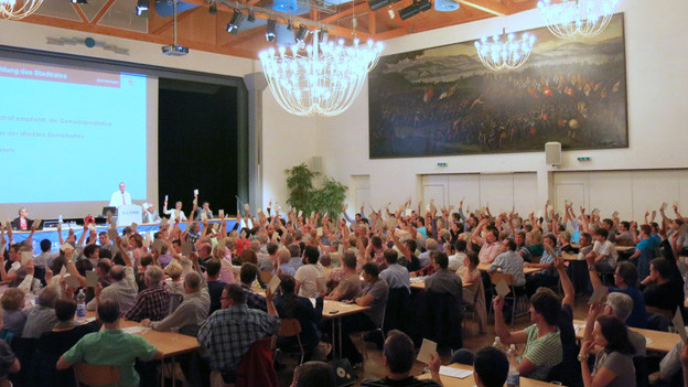 Sich selbst nicht abschaffen: Gemeindeversammlung vom Montagabend in Sempach/LU.