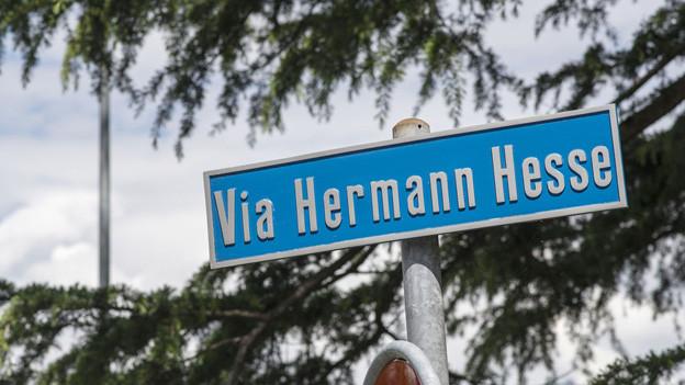 Den Hesse-Weg gibt es schon in Montagnola - nun soll auch ein Literatur-Park entstehen.
