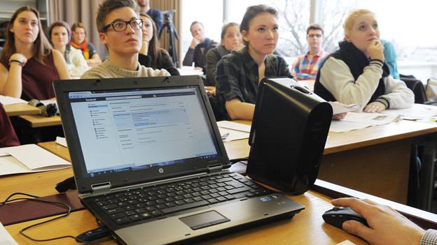 Nicht sichere Internetseiten bei Schulen im Kanton Zürich.