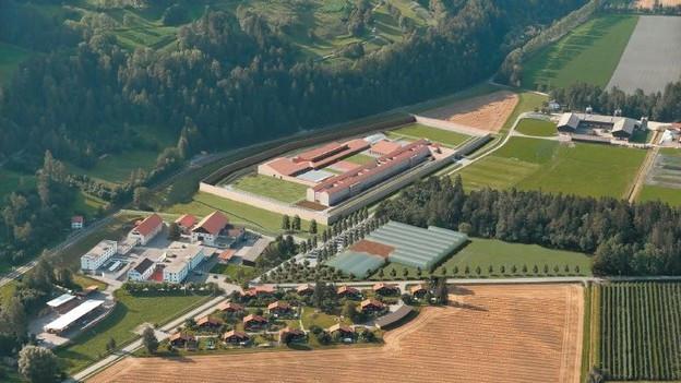 Neu in Cazis: 152 Plätze im geschlossenen Strafvollzug.