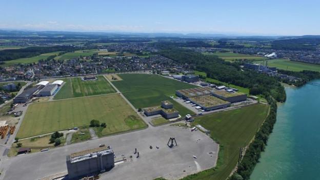 Das Borregaard-Areal in Lutterbach
