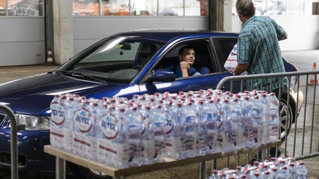 3000 Liter Abwasser gelangten in das Trinkwassersystem.