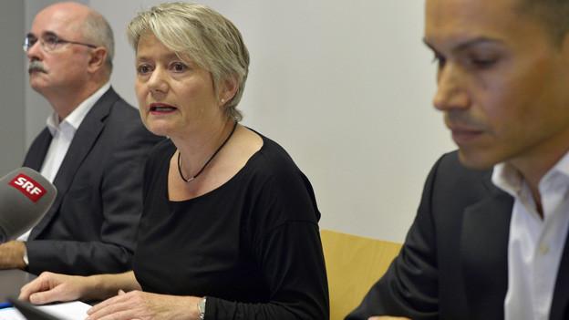 Die Zürcher Justizdirektorin Jacqueline Fehr: hier auf einer Aufnahme vom vergangenen Samstag.