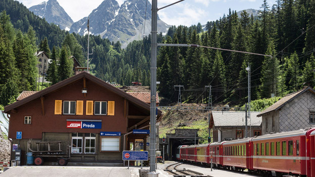 Die RhB baut bis 2021 den neuen Albula-Tunnel