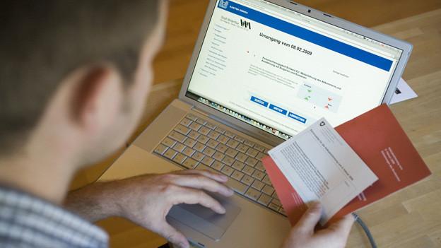 E-Voting verzögert sich in 9 Kantonen.