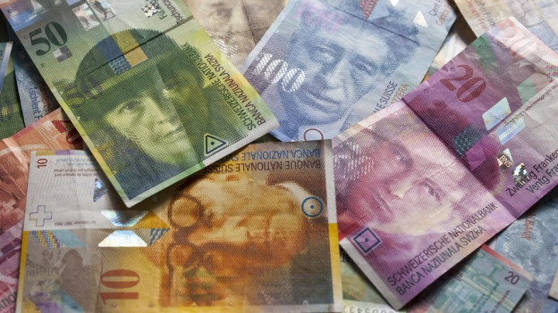 verschiedene Schweizer Noten