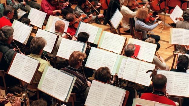 Auch Orchester könnten betroffen sein von den Baselbieter Sparplänen